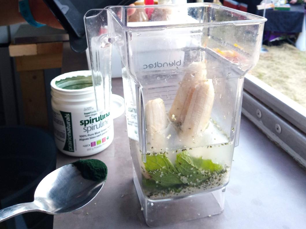 organic smoothie mayne island